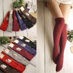 Accessories - Warm Thick Over the Knee Socks